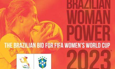 A Confederação Brasileira de Futebol (CBF) entregou à FIFA a proposta que oficializa a candidatura do Brasil a sediar a Copa do Mundo Feminina 2023.