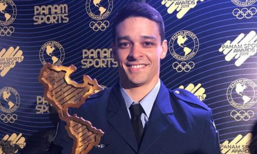 Chico Barretto, da ginástica artística melhor atleta de Lima-2019