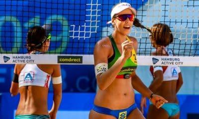 FIVB escolhe Duda Lisboa como a melhor jogadora de ataque do Circuito vôlei de praia cancelamento etapas