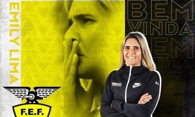 Emily Lima foi anunciada como técnica da seleção equatoriana de futebol feminino