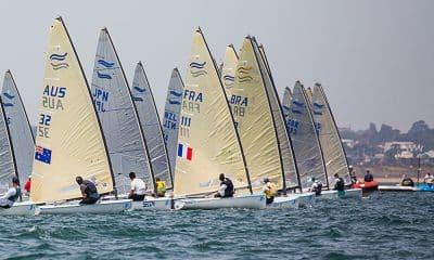 Jorge Zariff, na Finn Gold Cup de vela