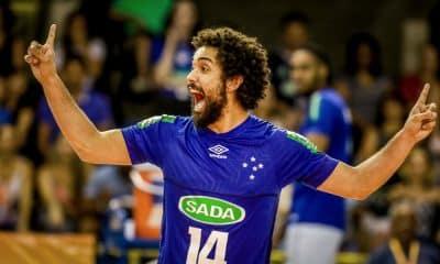 Fernando Cachopa Sada Cruzeiro Mundial vôlei masculino clubes - Fernando Cachopa - seleção brasileira de vôlei masculino - Jogos Olímpicos de Tóquio 2020