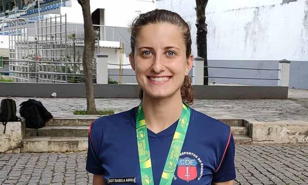 Isabela Abreu, tricampeã do brasileiro de pentatlo moderno
