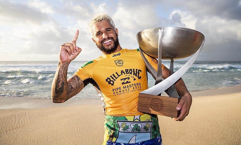 Ítalo Ferreira, campeão da WSL