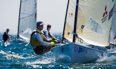Jorge Zarif, da classe Finn, na Finn Gold Cup, em Melbourne