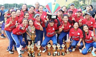 Marília campeão da Taça Brasil de softbol