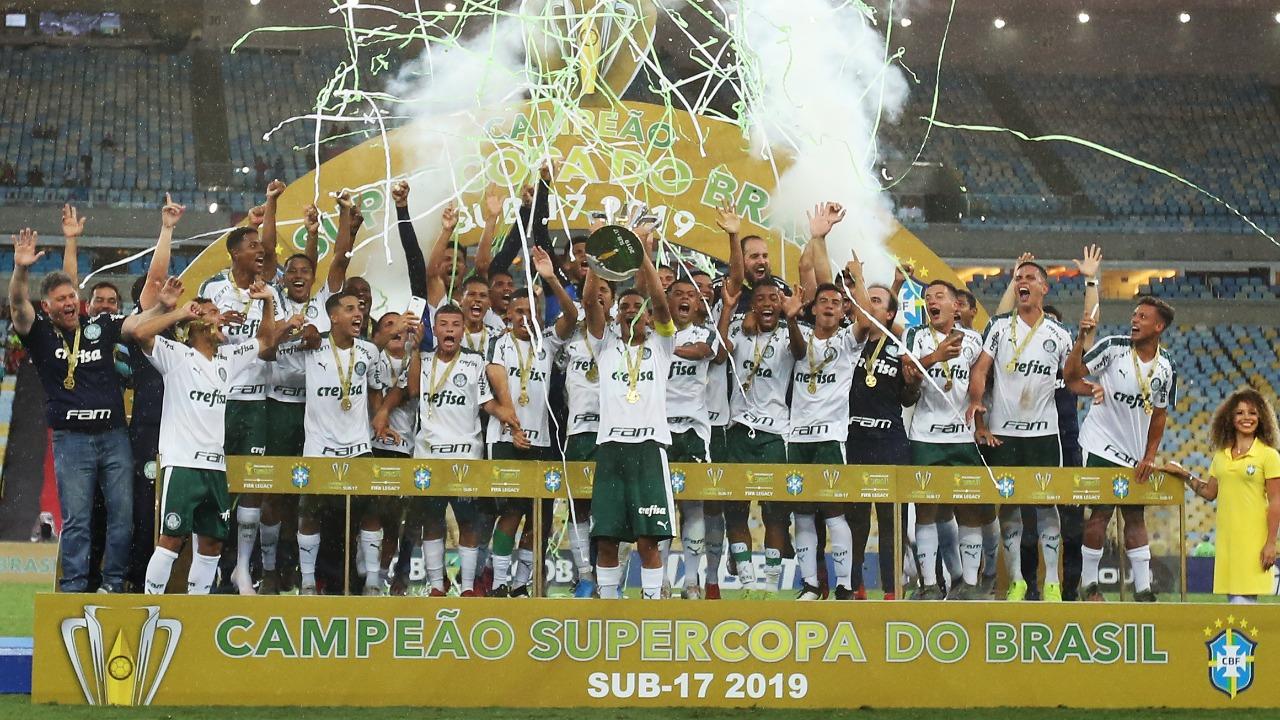 Palmeiras campeão da Supercopa Sub-17 de futebol