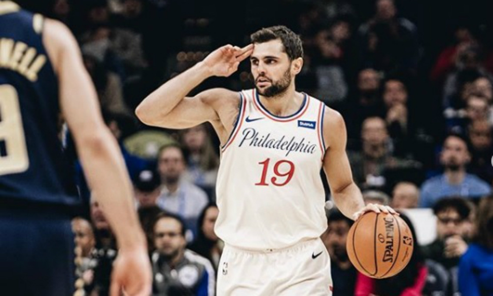 Raulzinho do Philadelphia 76ers na NBA volta data prevista