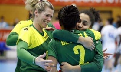 Seleção brasileira contra a França pelo Mundial de Handebol Feminino