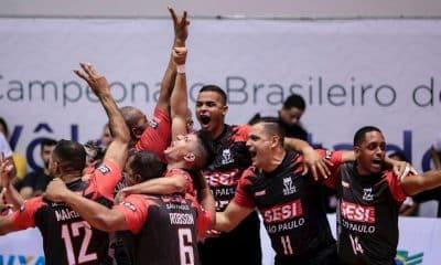 Sesi-SP bate Corinthians e é tricampeão de vôlei sentado