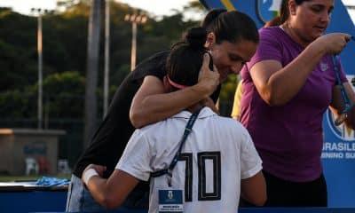Simone Jatobá na final do Brasileiro Sub-16 de futebol feminino