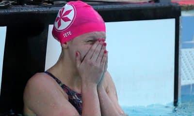 Stephanie Balduccini, no Brasileiro Interclubes Juvenil de natação - jogos olímpicos de Tóquio - revezamento 4x100m livre