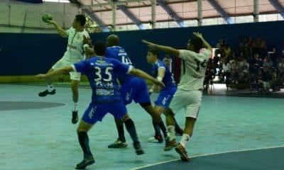 Taubaté e Corinthians pela liga nacional de handebol