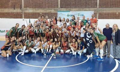 Tijuca Tênis Clube campeão do Brasileiro Interclubes Sub-18 de vôlei feminino