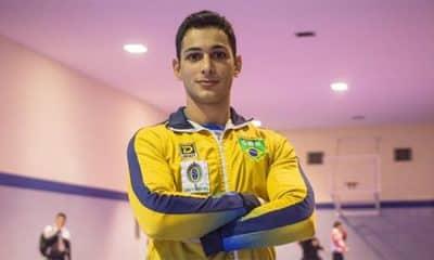 Vinícius Figueira, do caratê classificado para os jogos olímpicos tóquio 2020 no caratê