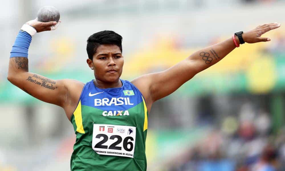 Geisa Arcanjo Sul-Americano Indoor de atletismo - Jogos Olímpicos de Töquio 2020 - arremesso de peso
