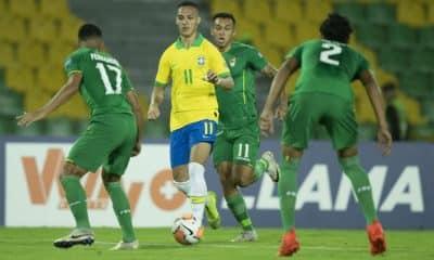 Brasil x Bolívia - Pré-Olímpico de futebol