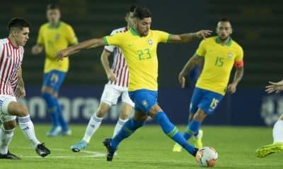 Brasil x Paraguai - Pré-Olímpico de futebol