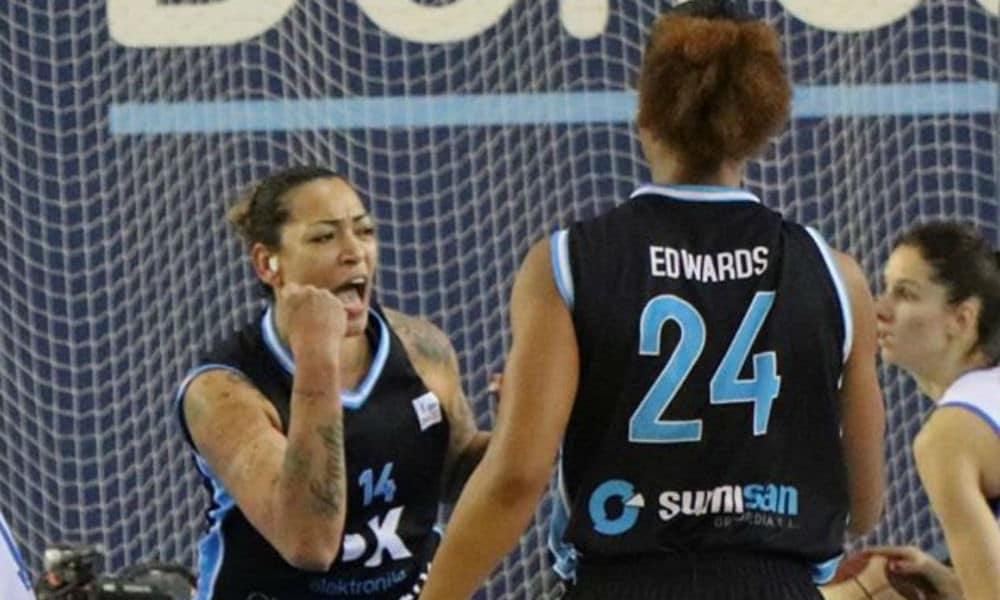 Erika Souza, do Gipuzkoa, no basquete da Espanha