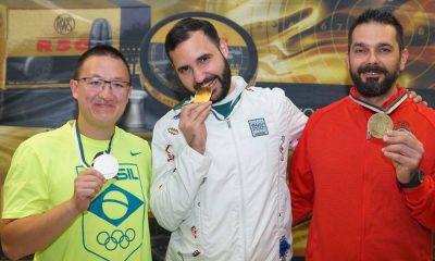 Felipe Wu conquista a prata na Alemanha