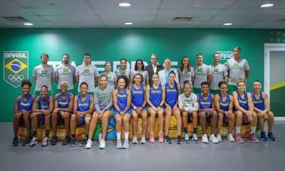Presidente COB - Seleção feminina de basquete