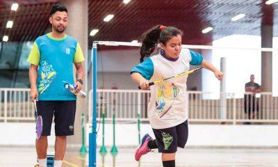 Parabadminton celebra estreia Camping Escolar Paralímpico