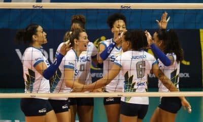 Sesc x São Paulo - Superliga feminina