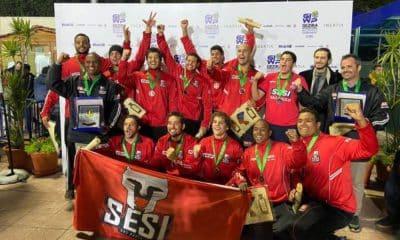 Sesi-SP termina o Torneio Internacional de Pólo Aquático em terceiro2