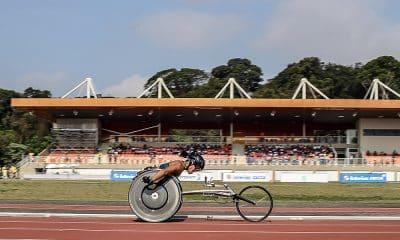 Eventos, como de atletismo, no Centro Paralímpico Brasileiro