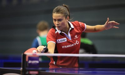 Bruna Takahashi no Aberto da Alemanha de tênis de mesa