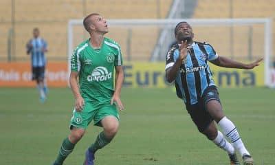 Grêmio e Chapecoense pela Copa São Paulo de futebol júnior