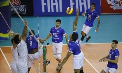 Cruzeiro e Minas se enfrentam na volta da Superliga masculina de vôlei