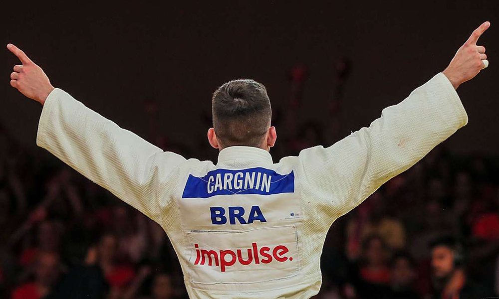 Daniel Carngnin - judô - meio-leve  -66kg - Olimpíada de Tóquio 2020