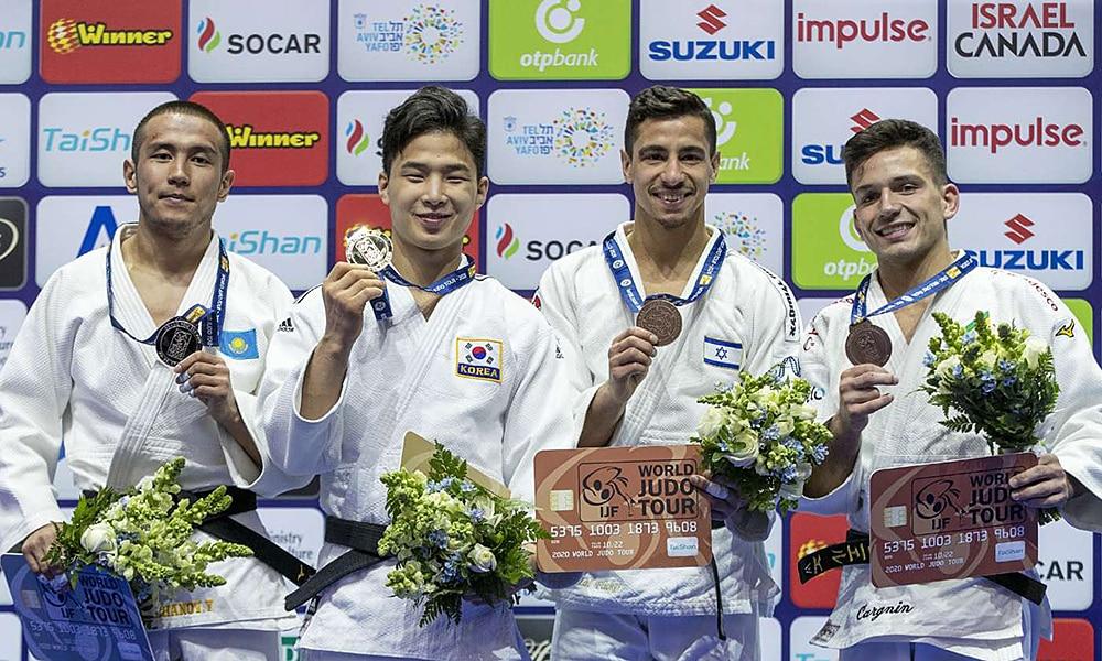 Daniel Cargnin é bronze no Grand Prix de Tel Aviv de judô