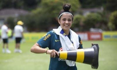 Analuyza seleção brasileira sub-17 de futebol feminino - Foto: Thais Magalhães/CBF