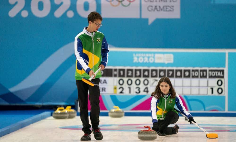 Brasil perde para Alemanha no curling - Jogos de Inverno da Juventude - Foto: OIS/Jed Leicester