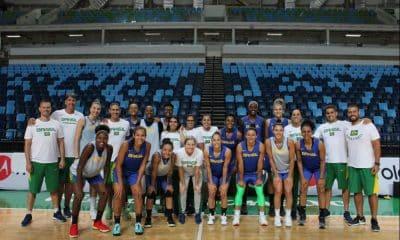 Seleção feminina de basquete fará treino aberto -Foto: Divulgação/CBB