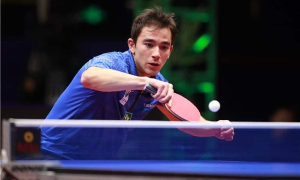 Hugo Calderano retorna aos treinos Crédito: ITTF.