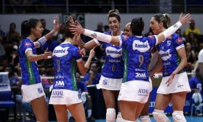 Minas x San Lorenzo - Sul-Americanos de Clubes de vôlei feminino