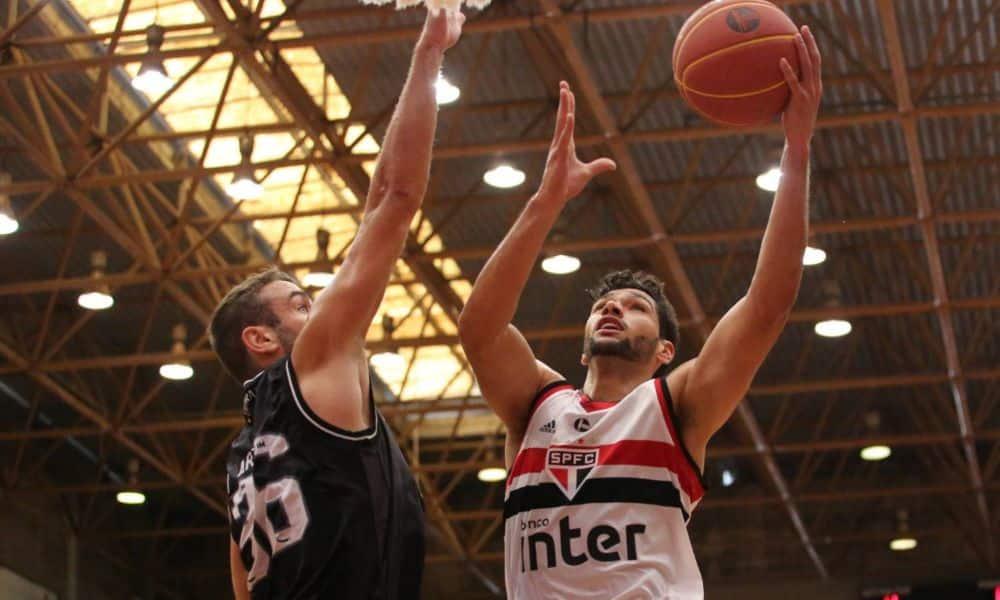 São Paulo vence Botafogo pelo NBB - Foto: Igor Amorim/SPFC.net basquete fim atividades