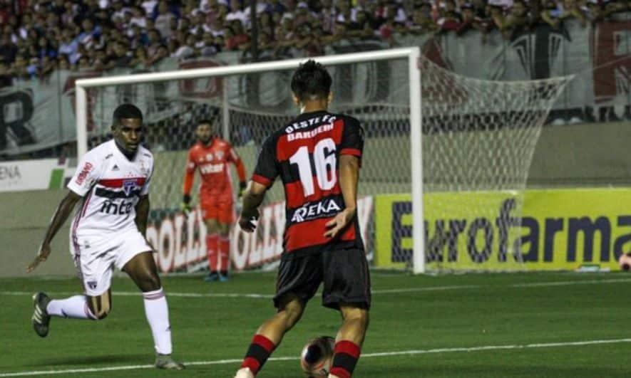 Oeste elimina São Paulo na Copa São Paulo - Foto: Guilherme Martinez Drovas