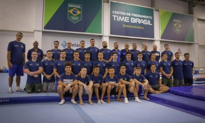 Ginástica Artística realizada maior camping de treinamento do time brasil treinamento do Time Brasil - Foto: Rafael Bello/COB