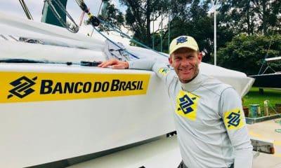 Robert Scheidt começa ano olímpico treinando em Porto Alegre e torcendo por filho Erik - Foto: Divulgação