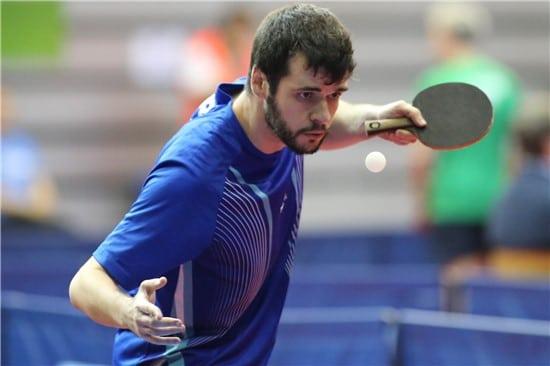 Israel Stroh é um dos dez atletas brasileiros do tênis de mesa confirmado nos Jogos Paralímpicos de Tóquio  Roberto Castro/Rede do Esporte)