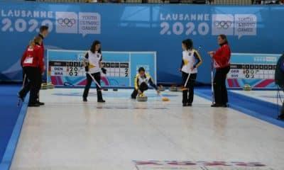 Curling do Brasil em Lausanne 2020