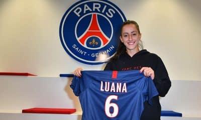 Luana acerta com o PSG para jogar a Champions de futebol feminino