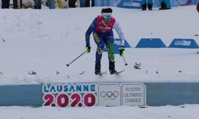 Manex Silva nos Jogos Olímpicos de Inverno da Juventude Lausanne 2020