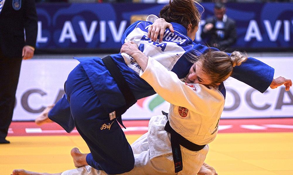 Nathália Brigida perde para Milica Nikolic do Grand Prix de Tel Aviv de judô