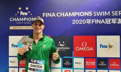 Nicholas Santos vence Champions Series de Natação em Shenzhen da fina