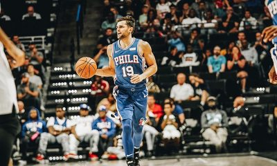 Raulzinho do Philadelphia 76ers na NBA Vencemos Juntos